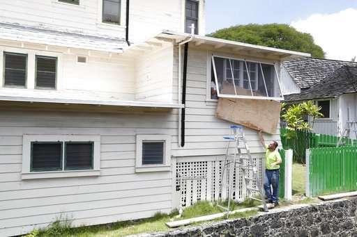 Hurricane Lane soaks Hawaii's Big Island with foot of rain