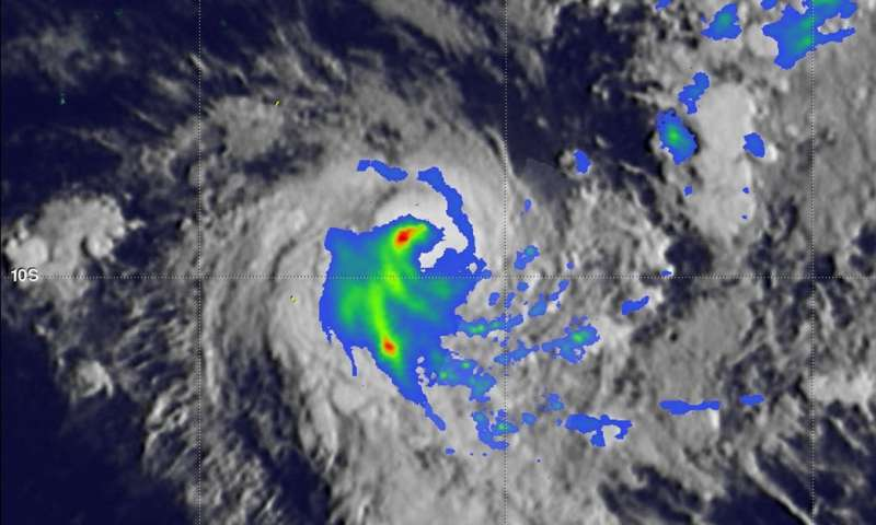 Tropical Cyclone Alcide's rainfall observed by GPM Satellite