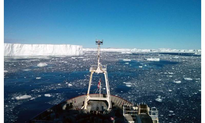 Researchers discover volcanic heat source under major Antarctic glacier