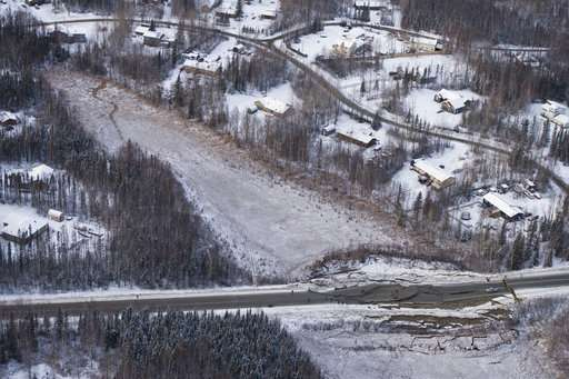 Alaska surveys damage from major earthquakes