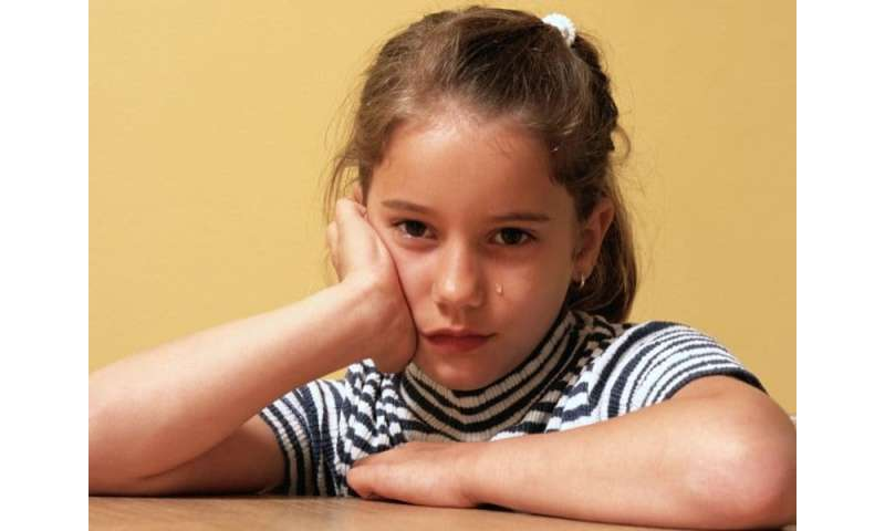 Prevalence of eating disorders 1.4 percent in preteens