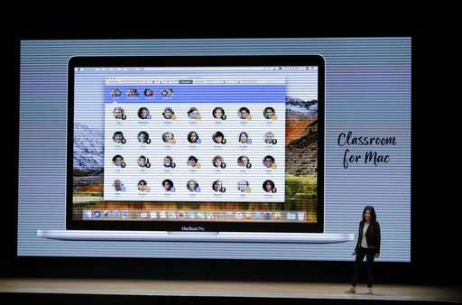 Apple unveils pencil support for $329 iPad at school event