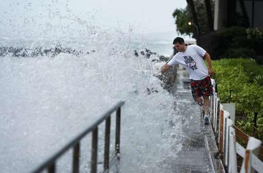 Hurricane Lane lumbers toward Hawaii with 120 mph winds