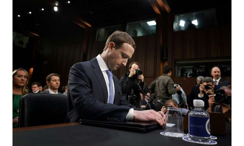 Facebook CEO Mark Zuckerberg apologized for privacy lapses in an appearance before Congress in April 2018