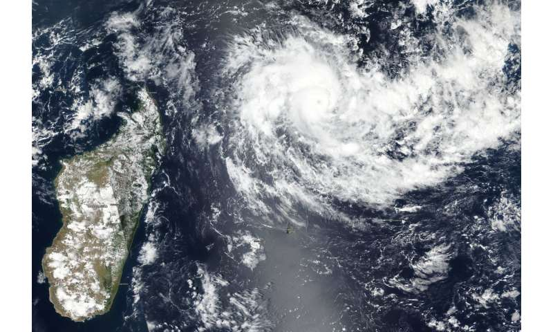 NASA-NOAA Satellite catches the eye of rapidly intensifying Tropical Cyclone Cilida