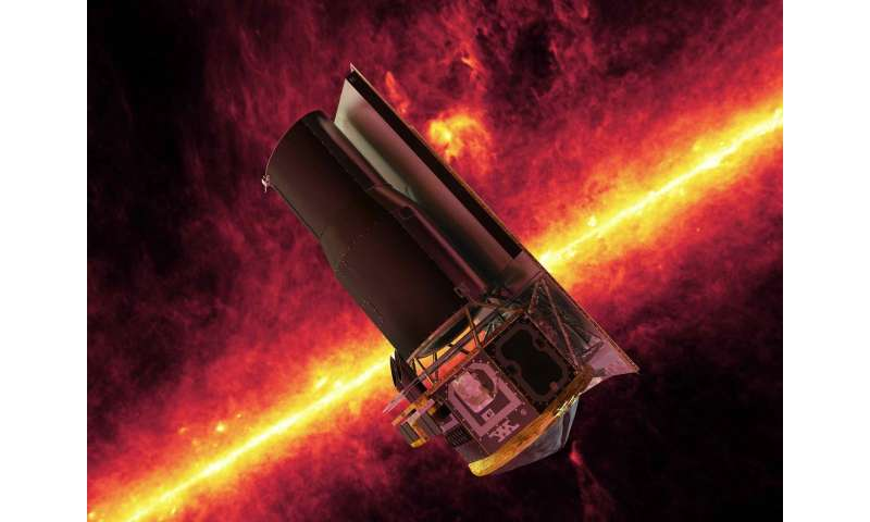 15 years in space for NASA's Spitzer Space Telescope