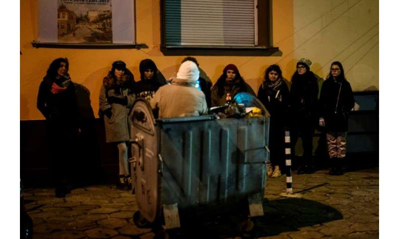 Environmentalists have joined forces with a theatre group to explore the untold stories of Sofia's army of unofficial refuse col