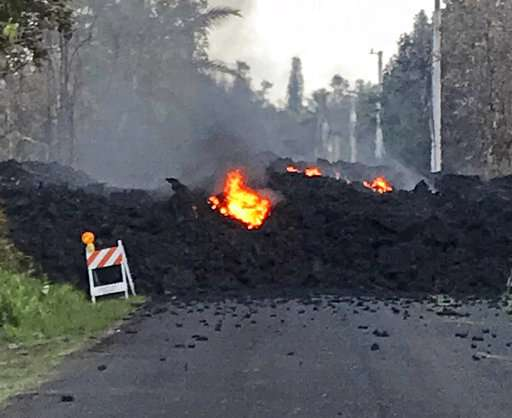 Hawaii volcano sends more lava, sulfur gas into communities