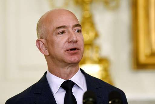 Amazon CEO's wealth soars to new heights while Trump's sinks
