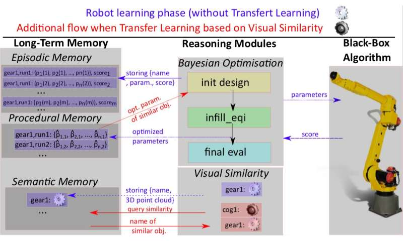 A new developmental framework could allow robots to optimize hyper-parameters autonomously