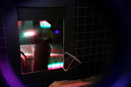 Better than holograms: A new 3-D projection into thin air