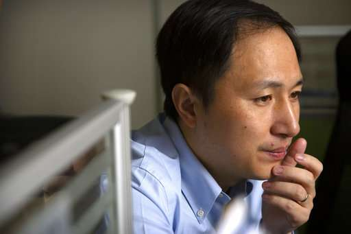 China halts work by team on gene-edited babies