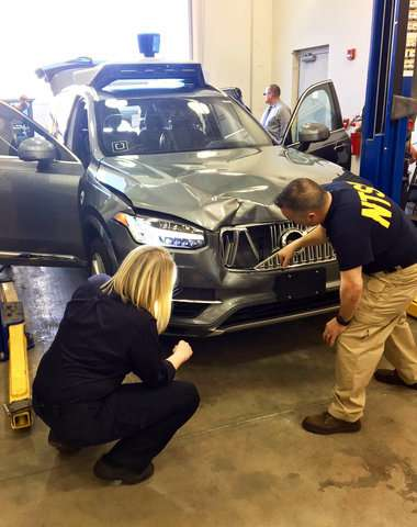 Deadly crash raises questions about Uber self-driving system