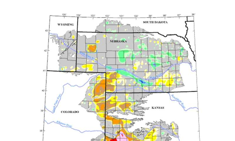 Farmers are drawing groundwater from the giant Ogallala Aquifer ...