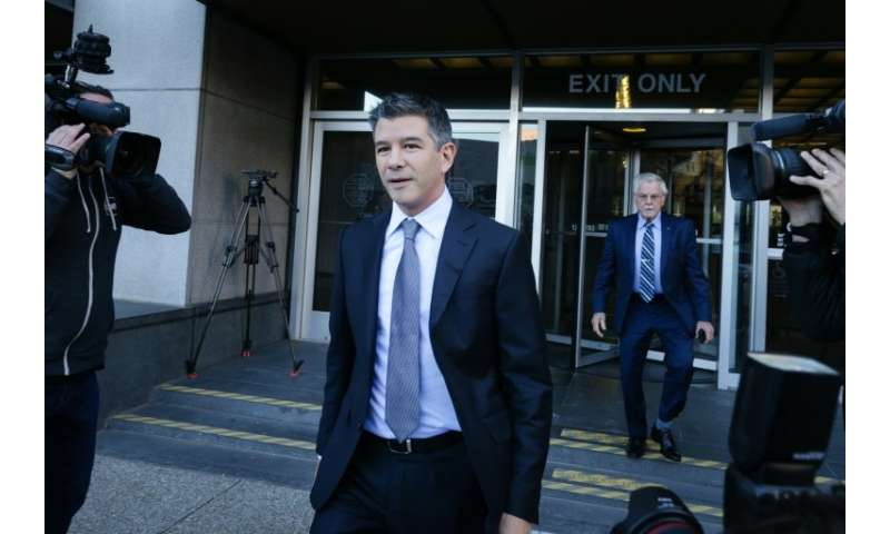 Former Uber CEO Travis Kalanick was among the wtinesses testifying in the trade secrets trial before Friday's settlement