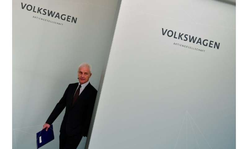 Going, going, gone? Matthias Mueller's days at VW seem to be over