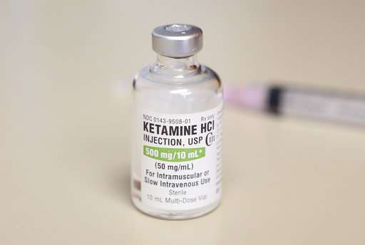 High hopes & hype for experimental depression drug ketamine