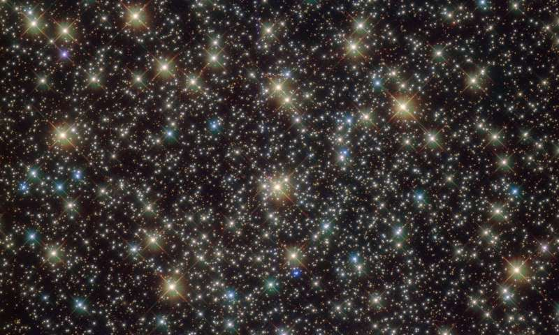 Image: Hubble's standout stars bound together by gravity