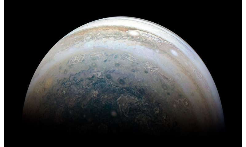 Image: Jupiter's southern hemisphere