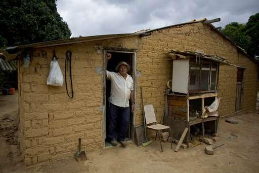 In Brazil backlands, termites built millions of dirt mounds