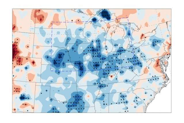 Intensive agriculture influences U.S. regional summer climate, study finds