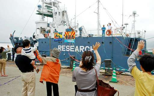 Japan to revise northern Pacific sei whaling program