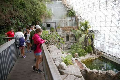 Legacy of Biosphere 2 lives on in singular research space