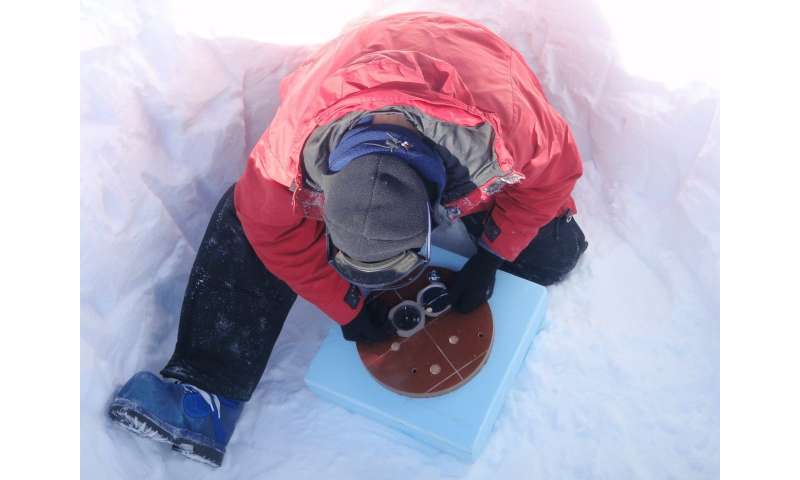 Long thought silent because of ice, study shows east Antarctica seismically active