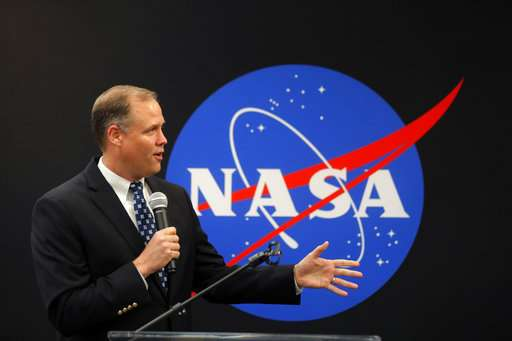NASA administrator supports Trump 'space force' proposal