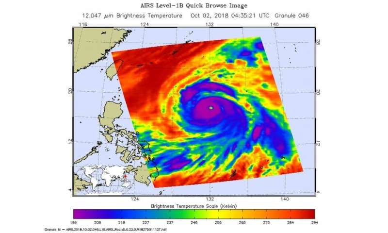 NASA eyes powerful Super Typhoon Kong-Rey