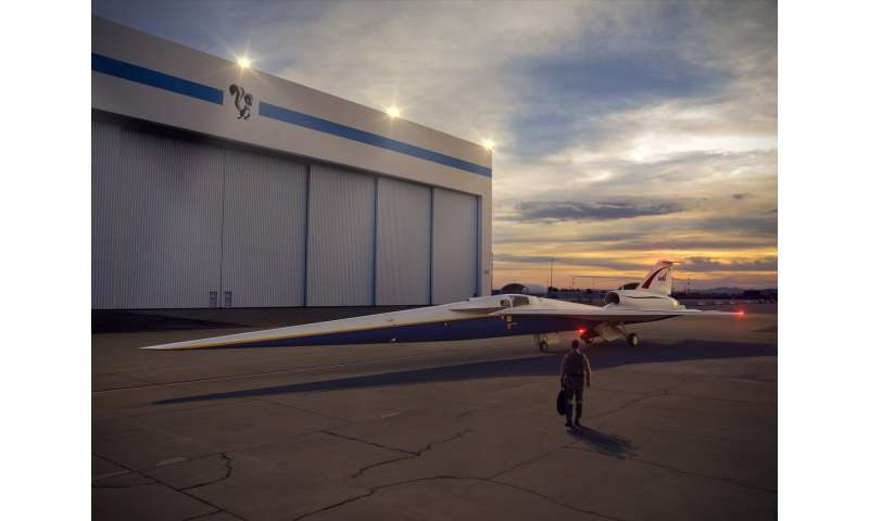 NASA prepares to go public with quiet supersonic tech