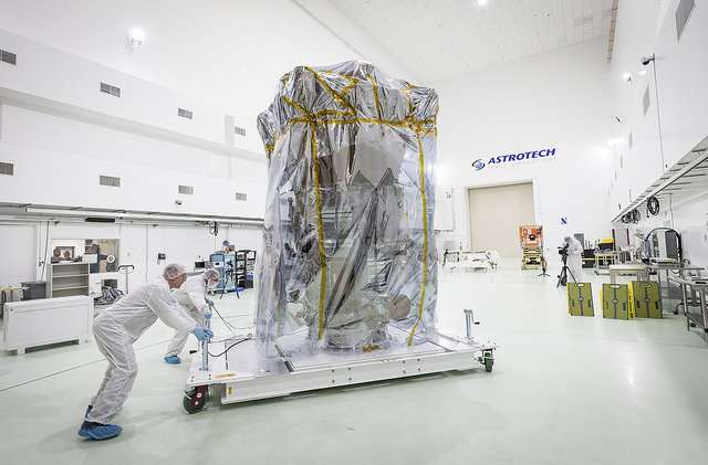 NASA's mission to touch the sun arrives in Florida