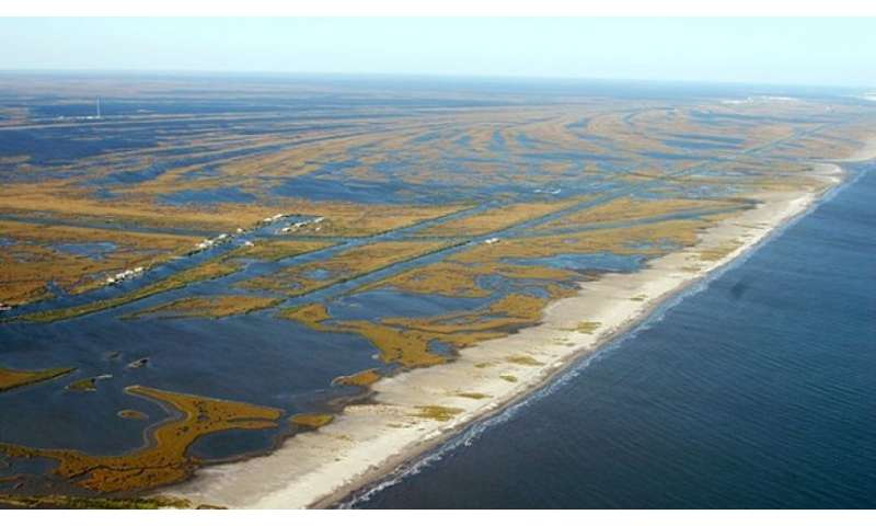 New model could help rebuild eroding lands in coastal Louisiana