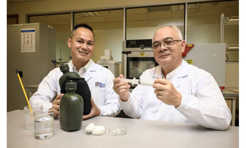 NUS researchers turn fashion waste into multifunctional material