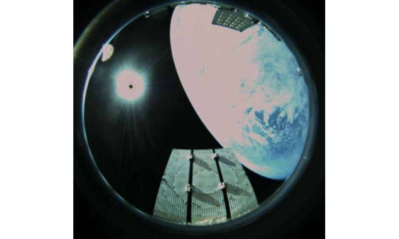 Orbital tests for advanced communication with small spacecraft begin