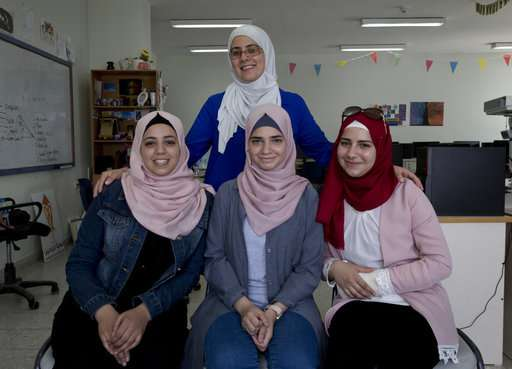Palestinian teens reach finals of Silicon Valley app pitch