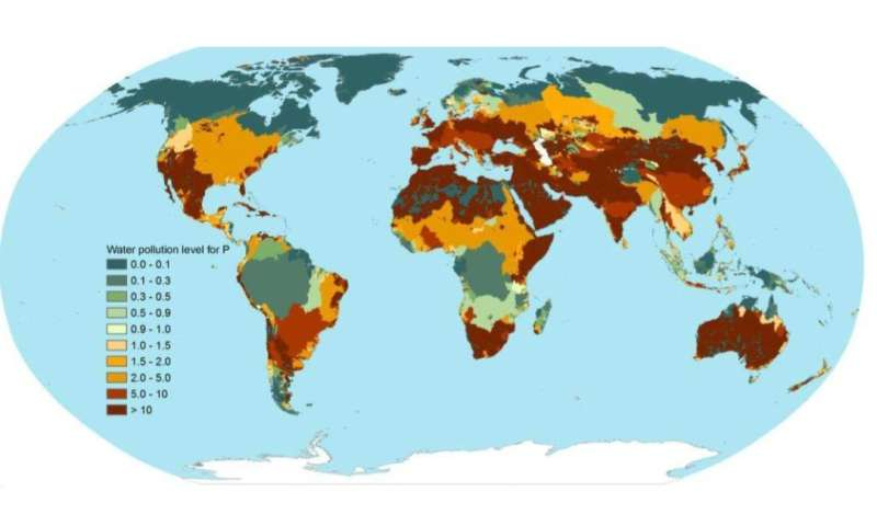 Phosphorus pollution reaching dangerous levels worldwide, new study finds
