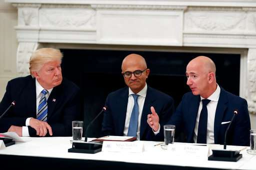 Q&A: Trump, the post office and Amazon
