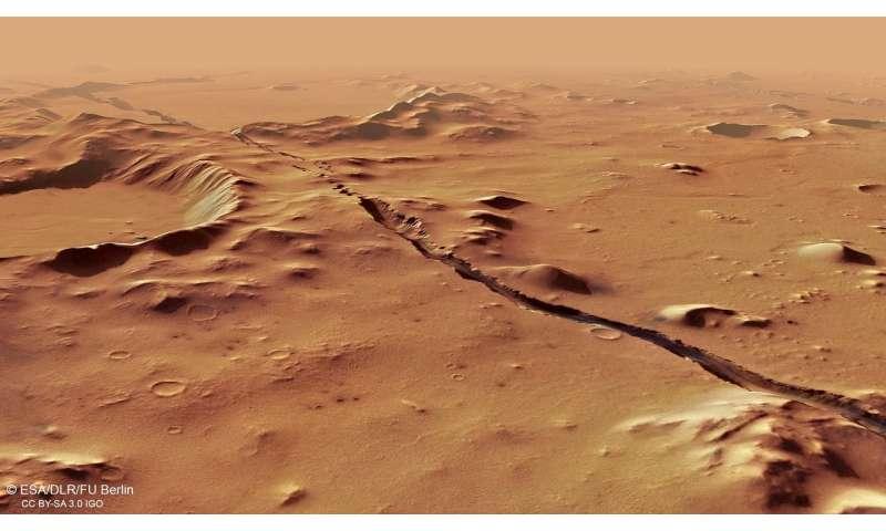 Recent tectonics on Mars