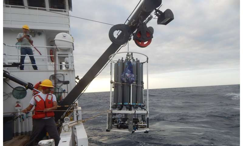 Research finds link between rainfall and ocean circulation in past and present