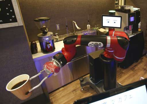 Robot na kávu