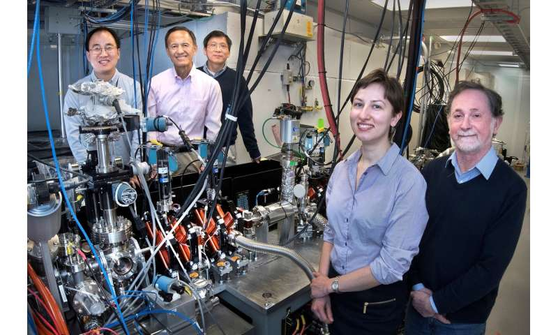 Scientists pinpoint energy flowing through vibrations in superconducting crystals