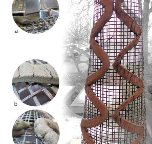 **SCRIM: An innovative method for 3D Concrete Printing