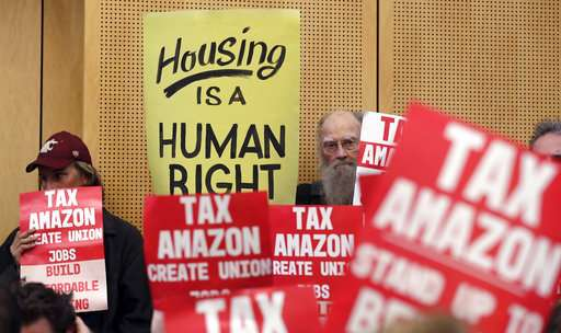 Seattle poised to repeal new tax opposed by Amazon