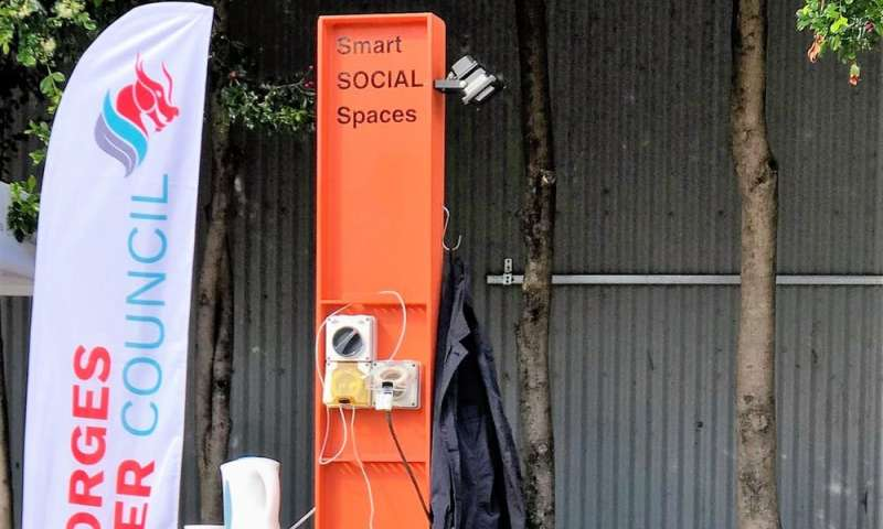 Sensors in public spaces can help create cities that are both smart and sociable