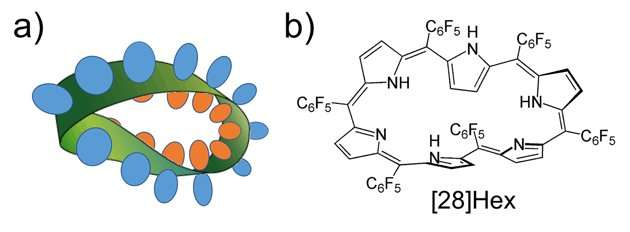 Shedding light on a cyclic molecule with a twist