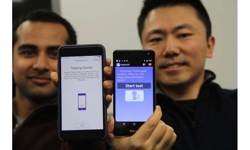 Smartphone 'scores' can help doctors track severity of Parkinson's disease symptoms