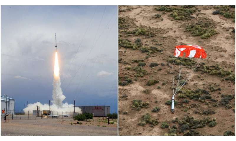 Sounding rocket takes a second look at the Sun