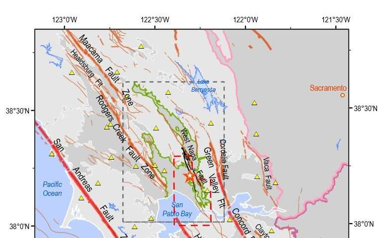 South Napa earthquake linked to summer groundwater dip