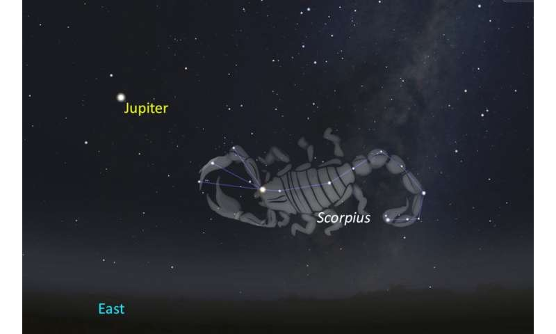 The latest from Juno as Jupiter appears bright in the night sky
